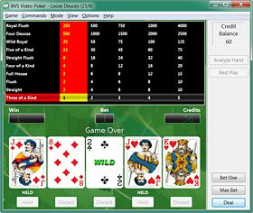 BVS Video Poker Software