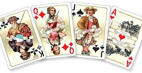 Swiss Costumes card set